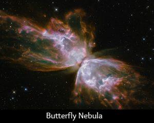 Scorpio butterfly nebula