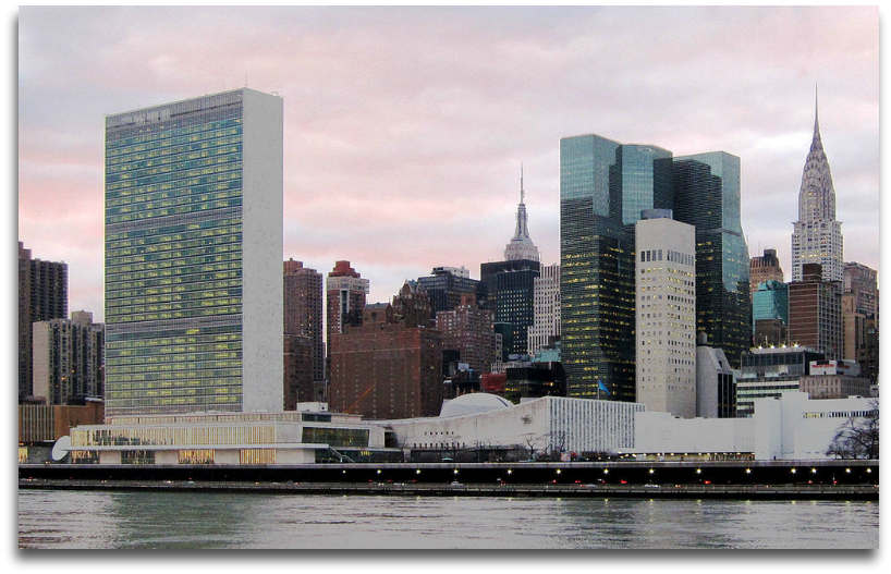 UN HQ in NYC