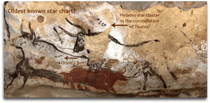 instrideonline.com constellations lascaux cave walls