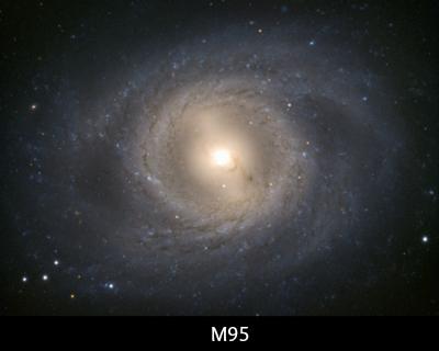 instrideonline.com constellations M95 galaxy