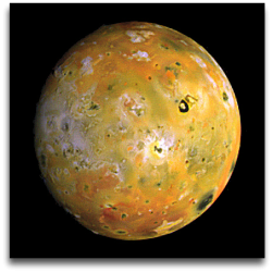 Jupiter Io moon