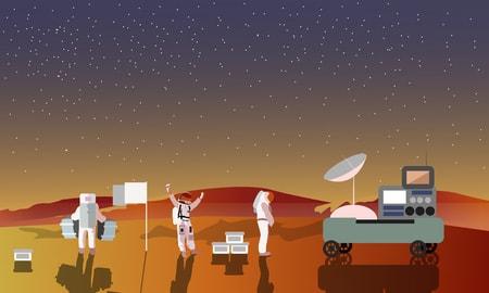 instrideonline.com solar system mars clipart