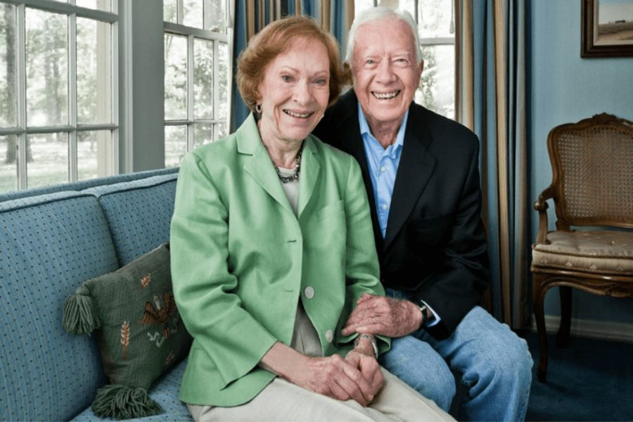Jimmy and Rosalyn Carter