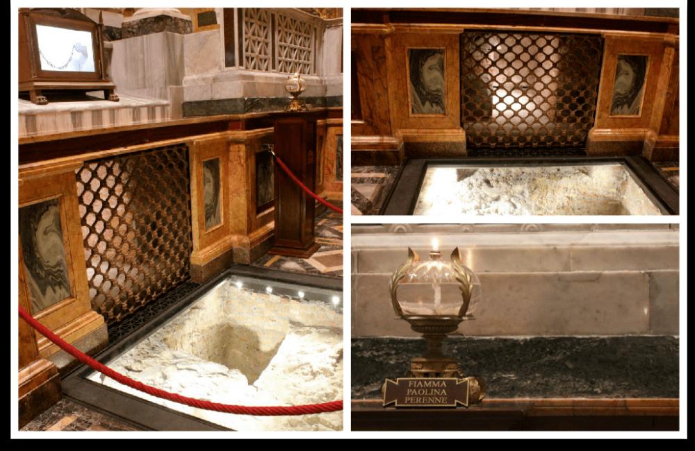 st. paul's tomb