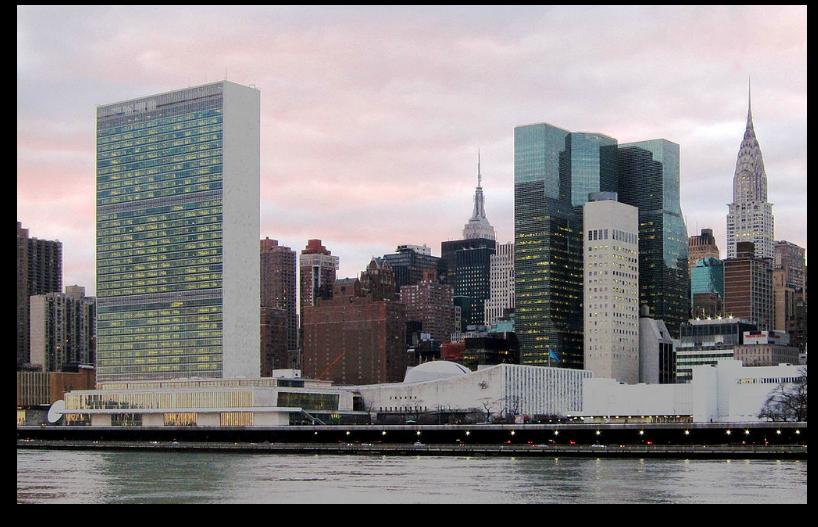 UN HQ in NYC