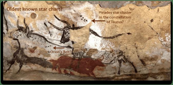 instrideonline.com constellations lascaux cave walls