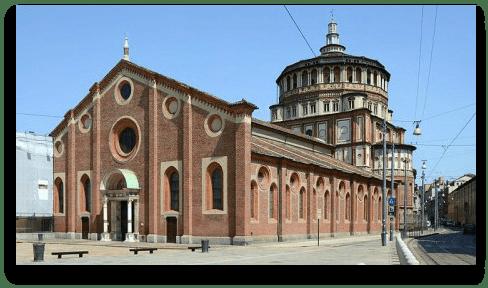 instrideonline.com Santa Maria della Grazie church modern day