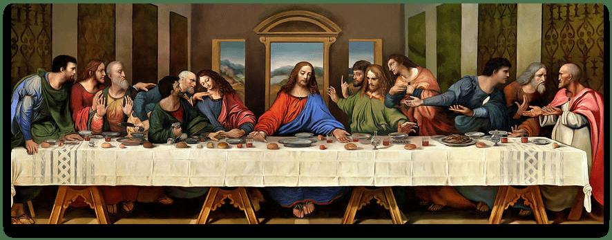 instrideonline.com Last Supper recreation